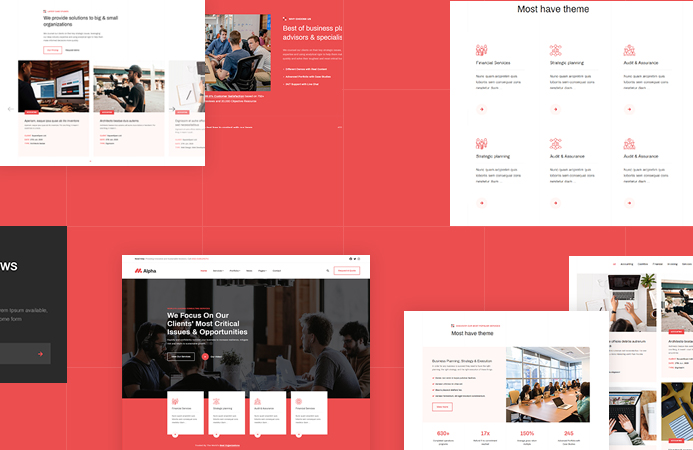 JA Alpha - Multi-purpose business Joomla template