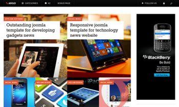 JA Argo - News Magazine Joomla template