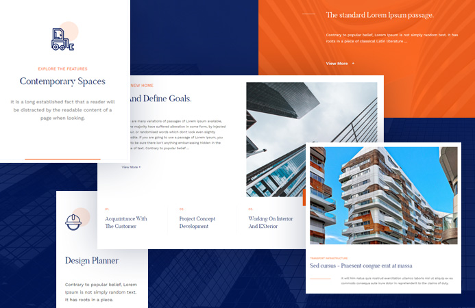 Beautiful content elements - JA Artsy Joomla template