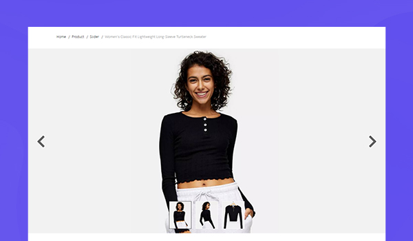 ecommerce joomla template product slider layout
