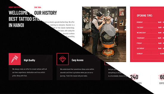 multiple themes joomla template for beauty salon