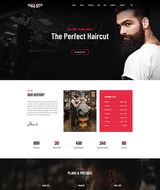 Joomla template for beauty salon - JA Beauty