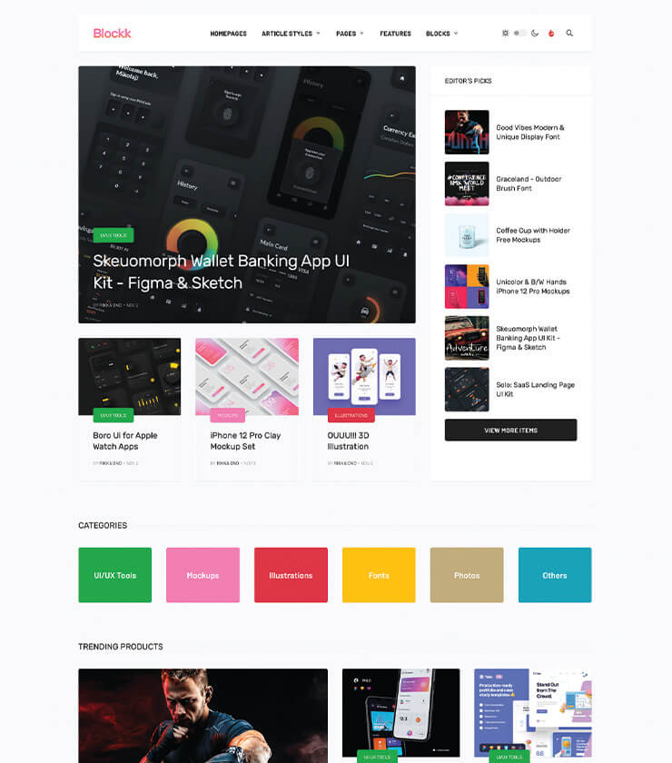 Joomla news template