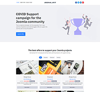 Free Joomla template for offer listing - JA Campaign