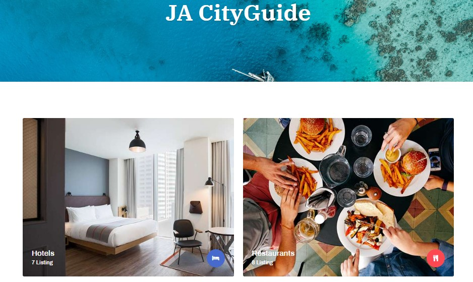 ja City guide