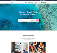 Travel and Tour Guide Joomla Template - JA City Guide