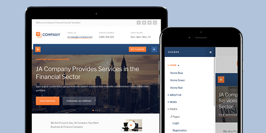 Ja company corporate and business joomla template joomla business joomla template flashek Gallery