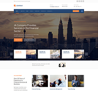 Corporate Business Joomla template - JA Company
