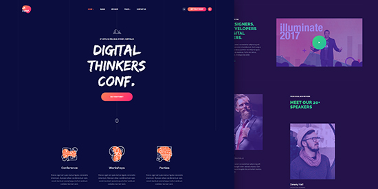 Designed For Joomla Event And Conference Website