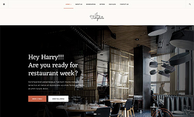 Responsive Joomla template for restaurant, pub or cafe - JA Diner