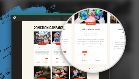 supports DT Donate Joomla donation extension