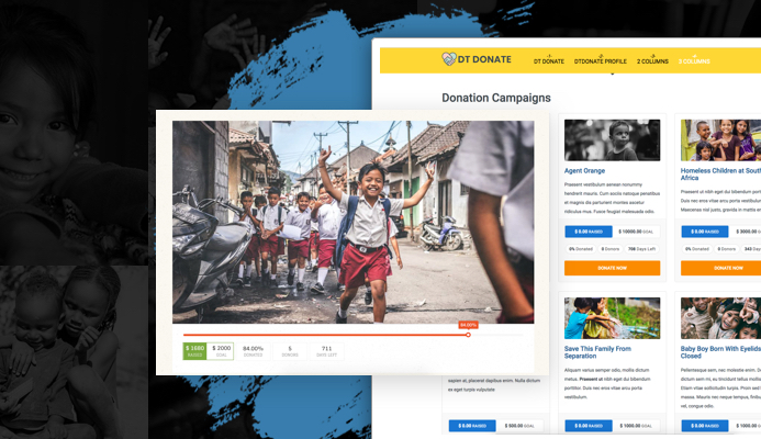 DT Donate - Joomla donation extension