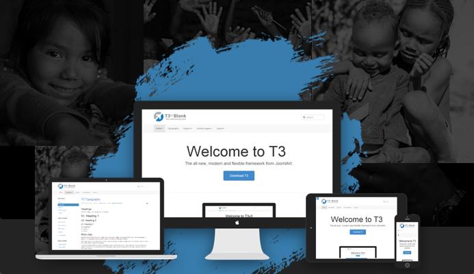T3 Framework joomla template