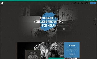 Joomla template for charity and donation - JA Donate