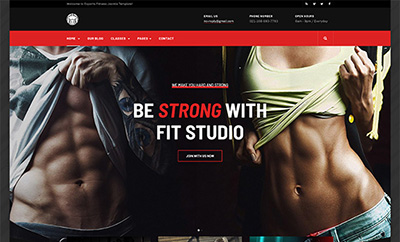 Creative Joomla Template for Gym and Fitness - JA Fit