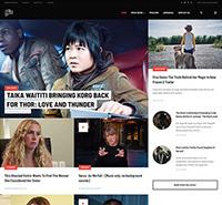 Professional Movie News Joomla Template - JA Flix
