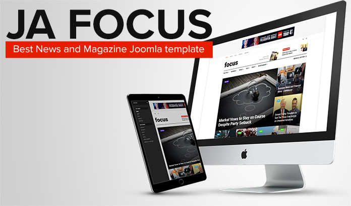 news and magazine joomla template