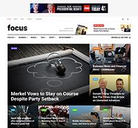 News Magazine Joomla template - JA Focus