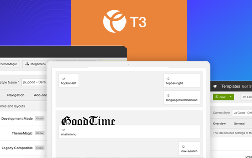 news joomla template