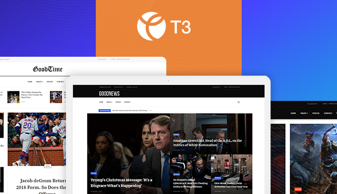 T3 Framework joomla template - JA Good