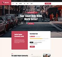 Charity, NGO, and Donation Joomla template - JA Helple