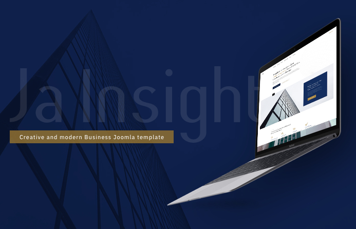 Business Joomla template : JA Insight