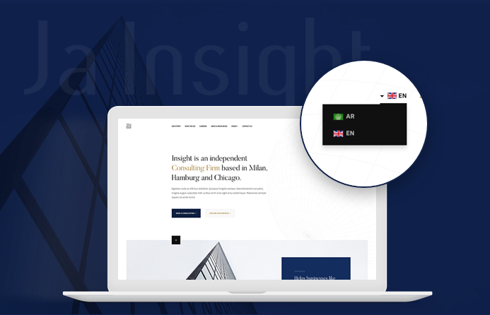 JA Insight RTL joomla template