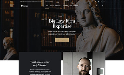 Professional Law Firm Joomla Template - JA Justitia