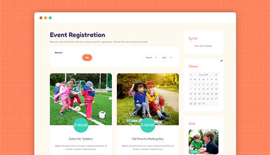 kindergarten joomla template