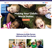 Creative Joomla template for Kindergarten and Kids play center - JA Kids Corner