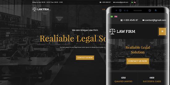 Legal Joomla Themes