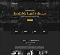 Legal/Lawyer Joomla Template - JA Law Firm
