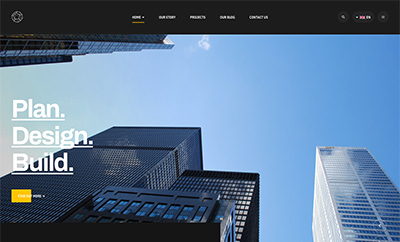 Business and Company Joomla template - JA Mason