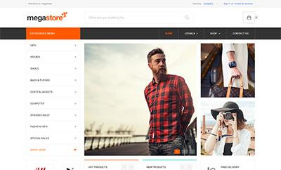 Responsive eCommerce Joomla template - JA Megastore