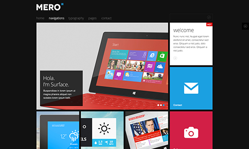 JA Mero - News Magazine Joomla template for business