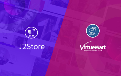 virtuemart joomla template and j2store joomla template