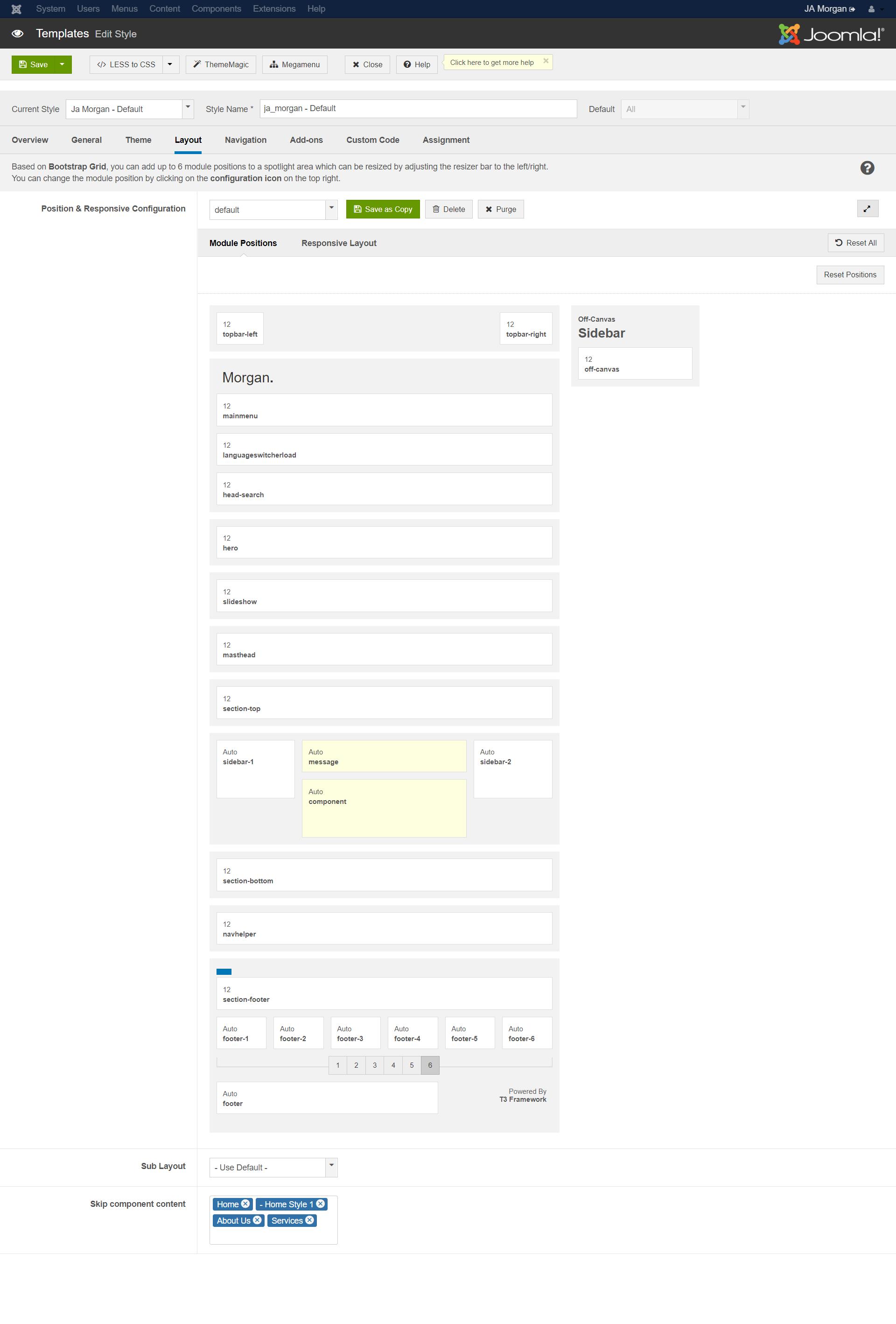 JA Morgan | Joomla Templates and Extensions Provider