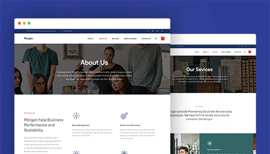 beautiful business joomla template
