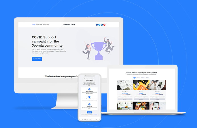 JA Campaign - Responsive Joomla template for offer websites