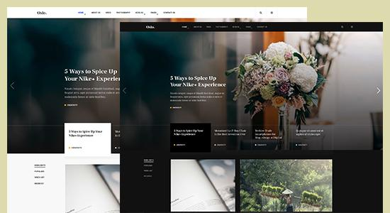 multiple color theme joomla template
