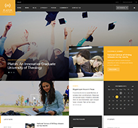 JA Platon - Responsive Joomla template for Universities & Colleges