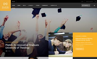 JA Platon - Responsive Joomla template for Universities & Colleges