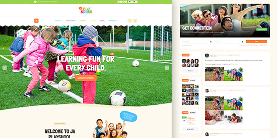 event and conference Joomla template