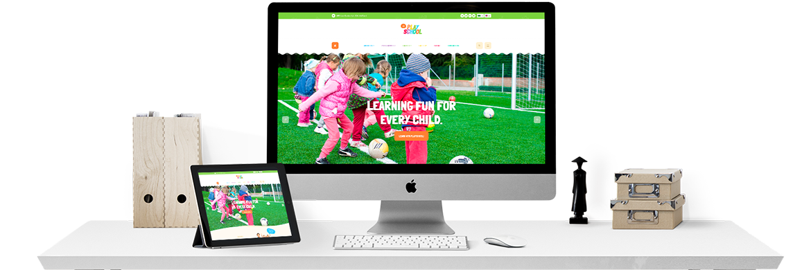 JA Playschool Template Released