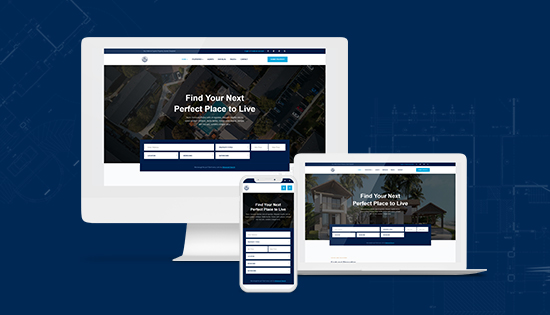 responsive real estate joomla template