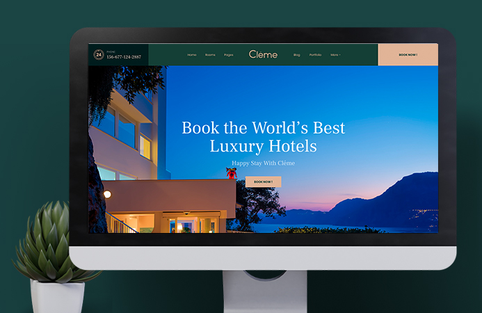 JA Resort - Designed for Resort hotel websites