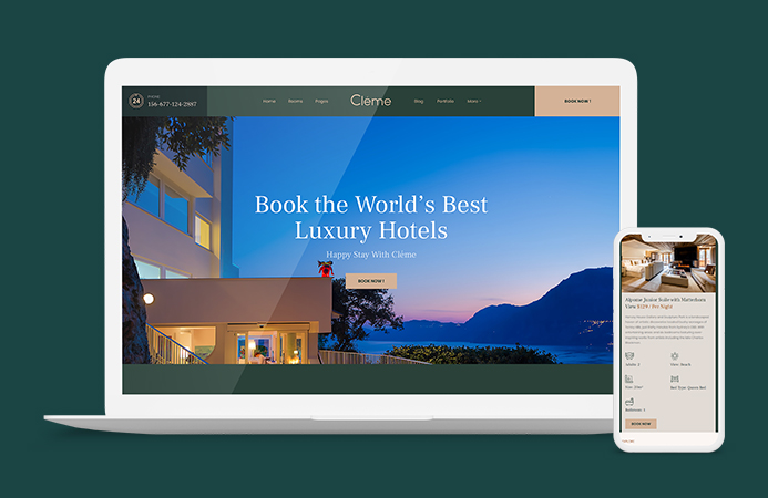 JA Resort - Responsive Joomla template for multipurpose websites