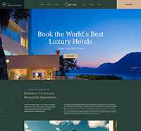 Ultimate hotel and resort booking Joomla template - JA Resort