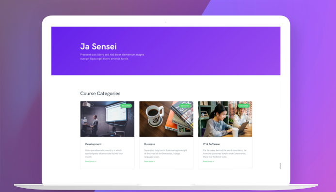 JA Senei Features Review - #1 Education Joomla template with
