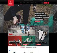 eCommerce Shoe Store Joomla Template - JA Shoe Store
